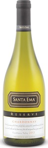 Santa Ema Reserve Chardonnay 2012, Casablanca Valley Bottle