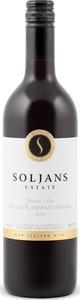 Soljans Merlot/Cabernet Sauvignon/Malbec 2012, Hawkes Bay, North Island Bottle