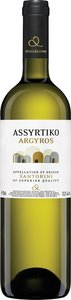 Argyros Assyrtiko 2013 Bottle