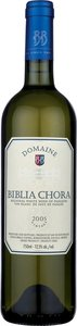 Ktima Biblia Chora Assyrtico / Sauvignon 2013 Bottle