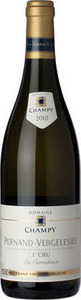 Champy Pernand Vergelesses En Caradeux Premier Cru 2011 Bottle