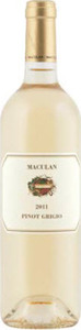 Maculan Pinot Grigio 2012, Igt Veneto Bottle