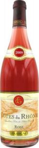 E. Guigal Côtes Du Rhône Rosé 2013, Ac Bottle