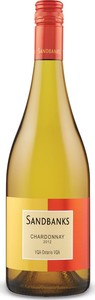 Sandbanks Chardonnay 2013, VQA Ontario Bottle