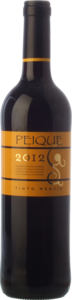 Peique Tinto Mencía 2012, Do Bierzo Bottle