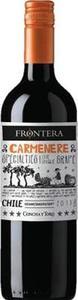 Concha Y Toro Frontera Specialties Carmenere 2013 Bottle