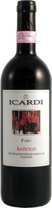 Icardi Parej Barolo 2008, Docg Bottle