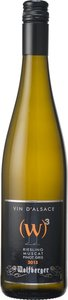 Wolfberger W3 Riesling Muscat Pinot Gris 2013 Bottle