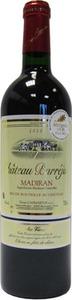 Château Barréjat Cuvée Des Vieux Ceps Madiran 2010 Bottle