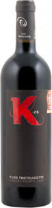 Clos Troteligotte K Or Malbec 2011, Ac Cahors Bottle