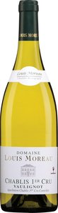 Louis Moreau Chablis Vaulignot Premier Cru 2011 Bottle