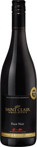 Saint Clair Pinot Noir 2012 Bottle