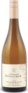 Hedesheimer Hof Weingut Beck Grauer Burgunder Kabinett Trocken 2012, Prädikatswein Bottle