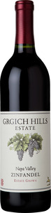 Grgich Hills Estate Grown Zinfandel 2010, Napa Valley Bottle