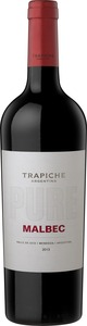 Trapiche Pure Malbec 2012, Uco Valley Bottle