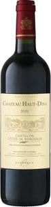 Château Haut Dina 2010, Ac Côtes De Bordeaux   Castillon Bottle