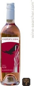 Cooper's Hawk Vineyards Cooper's Hawk Rose 2013, VQA Lake Erie North Shore Bottle