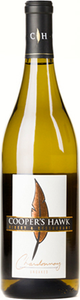 Coopers Hawk Vineyards Unoaked Chardonnay 2013, VQA Lake Erie North Shore Bottle