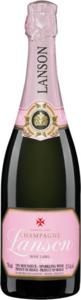 Lanson Rose Label Brut Rose Bottle