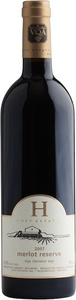 Huff Estates South Bay Vineyards Merlot Reserve 2007, Prince Edward County Bottle