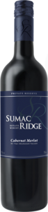 Sumac Ridge Cabernet Merlot Prsv 2010, BC VQA Okanagan Valley Bottle