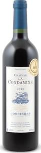 Château La Condamine Corbières 2012, Ac Bottle