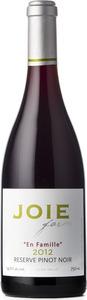 Joie Farm 'en Famille' Reserve Pinot Noir 2012, BC VQA Okanagan Valley Bottle