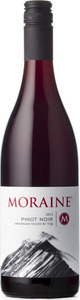 Moraine Winery Pinot Noir 2012, BC VQA Okanagan Valley Bottle