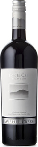 Averill Creek Vineyard Foch Cab Reserve 2009, VQA Vancouver Island Bottle