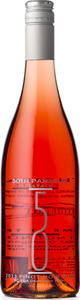 50th Parallel Estate Pinot Noir Rose 2013 Bottle