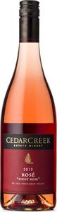 CedarCreek Rosé Pinot Noir 2013, Okanagan Valley Bottle