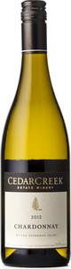 CedarCreek Chardonnay 2012 Bottle