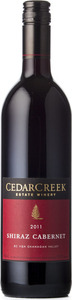 CedarCreek Shiraz Cabernet 2011, BC VQA Okanagan Valley Bottle
