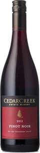 CedarCreek Pinot Noir 2012, Okanagan Valley Bottle