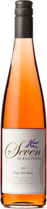 Seven Directions Kalala Pinot Noir Rosé 2013, BC VQA West Kelowna, Okanagan Valley Bottle