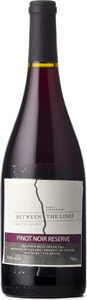 Between The Lines Pinot Noir Reserve 2012 Bottle