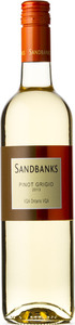 Sandbanks Estate Pinot Grigio 2013 Bottle