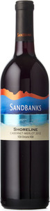 Sandbanks Estate Shoreline Red 2012, Prince Edward County VQA Bottle