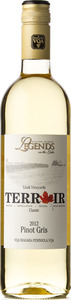 Legends Estates Pinot Gris Terroir 2012 Bottle