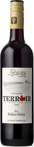 Legends Estates Terroir Malbec/Shiraz 2011, VQA Niagara Peninsula Bottle