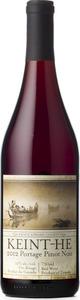 Keint He Portage Pinot Noir 2012, VQA Prince Edward County Bottle