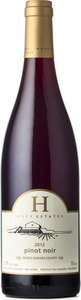 Huff Estates Pinot Noir 2012, VQA Prince Edward County Bottle