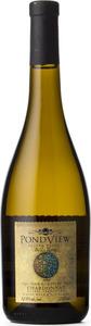 Pondview Chardonnay Bella Terra Barrel Fermented 2012, Four Mile Creek, Niagara Peninsula  Bottle