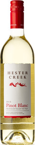 Hester Creek Pinot Blanc 2013, BC VQA Okanagan Valley Bottle