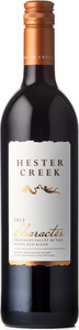 Hester Creek   Character Red 2012, BC VQA Okanagan Valley Bottle