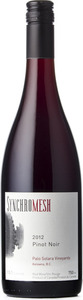 Synchromesh Pinot Noir Palo Solara Vineyards 2012, Okanagan Valley Bottle