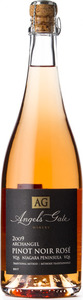 Angels Gate Archangel Pinot Noir Brut Rosé 2009, VQA Niagara Peninsula, Traditional Method Bottle