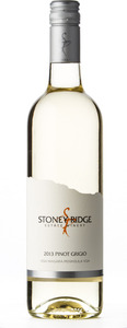 Stoney Ridge Pinot Grigio 2013, Niagara Peninsula Bottle