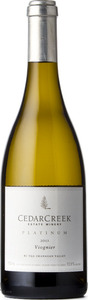 CedarCreek Platinum Viognier 2013, BC VQA Okanagan Valley Bottle