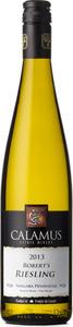 Calamus Estate Winery Robert's Riesling 2013 Bottle
